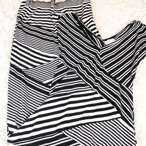 Nicole Miller Artellier  Maternity Maxi Dress